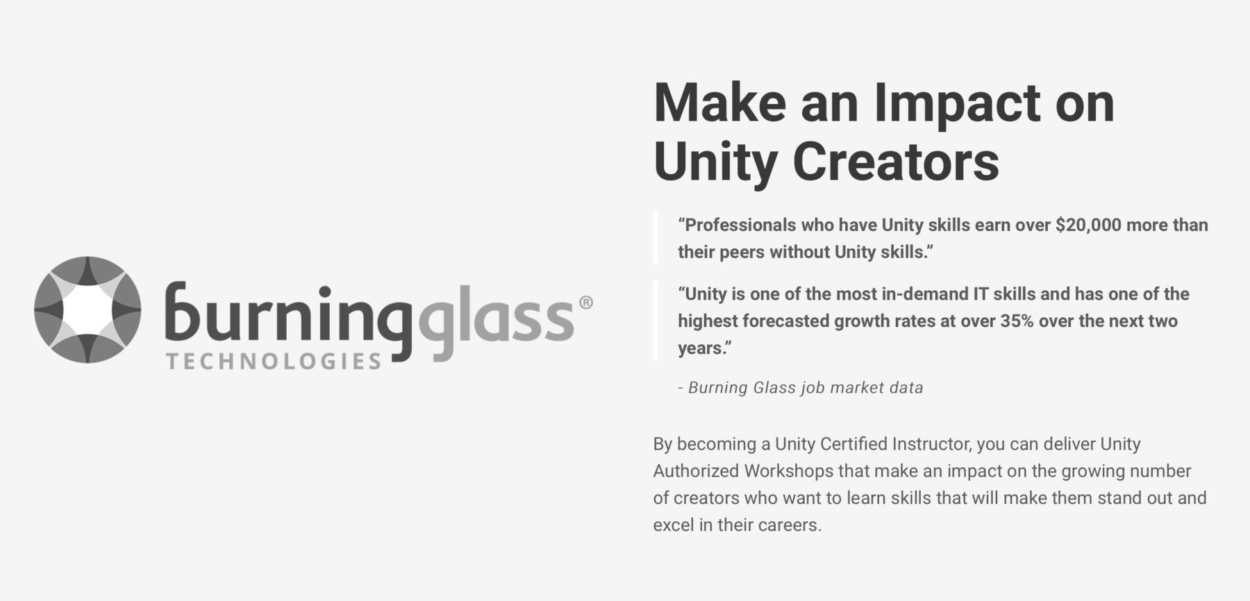 Become a Unity Certified Instructor - ThinkEDU Corporate WebSite